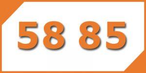 คู่เลข-เบอร์มงคล-58-85