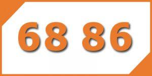 คู่เลข-เบอร์มงคล-68-86